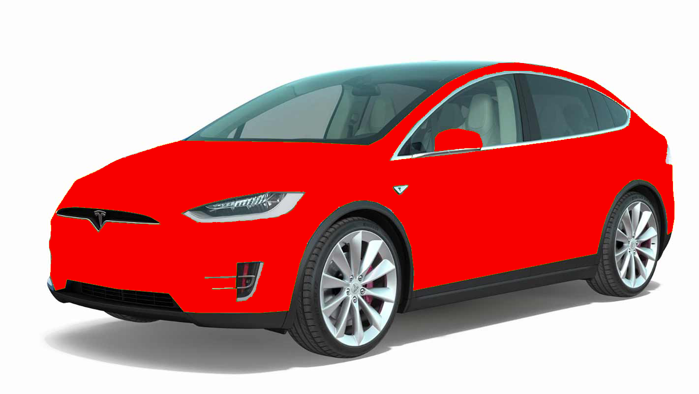 clear bra tesla model X package 3