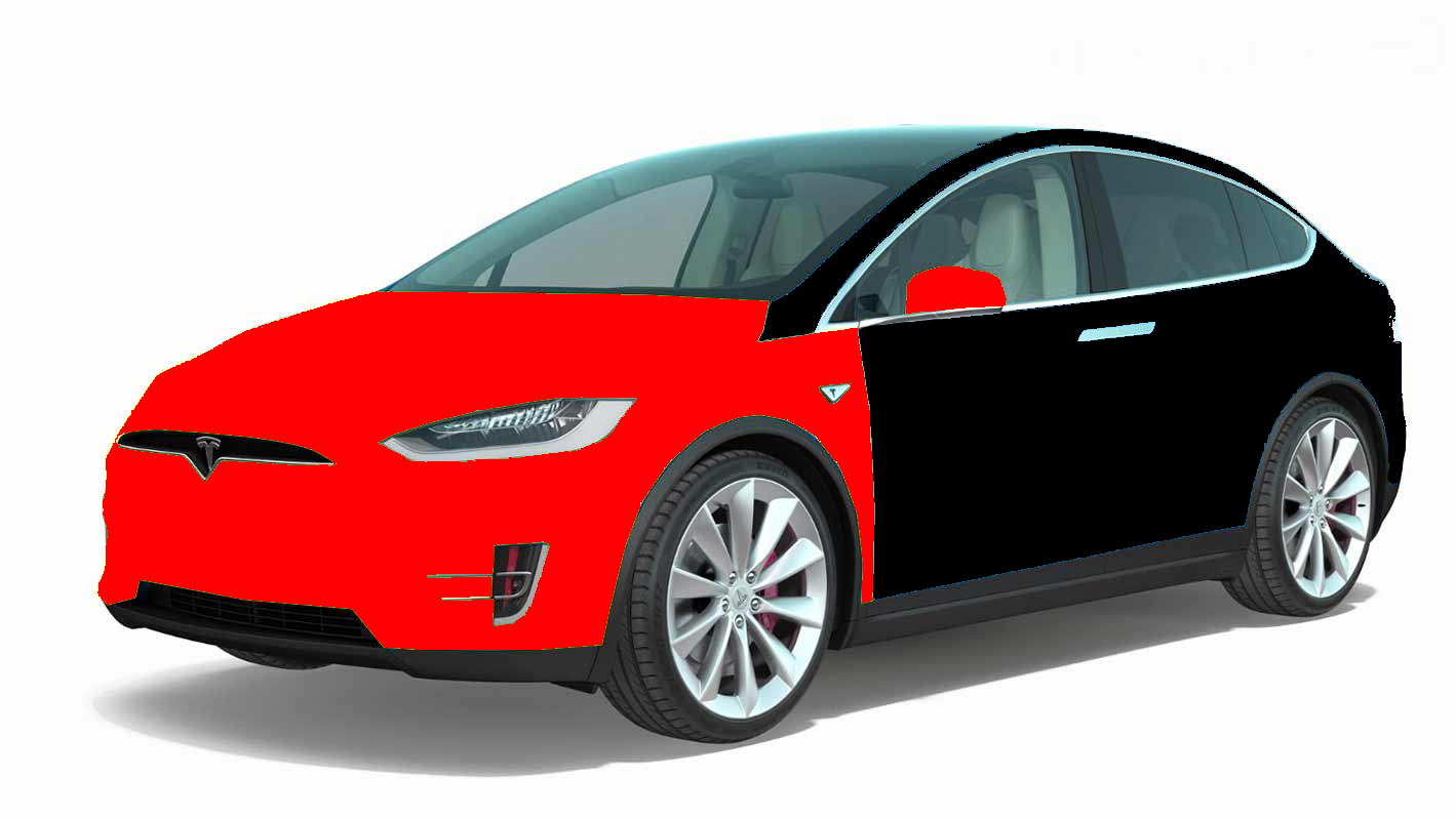 clear bra tesla model X package 2