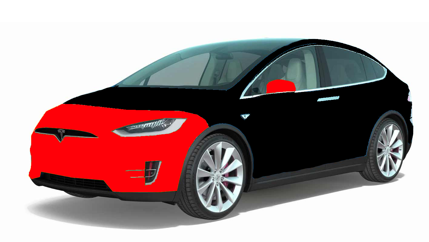 clear bra tesla model X package 1