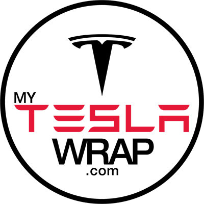 My Tesla Car Wrap Logo