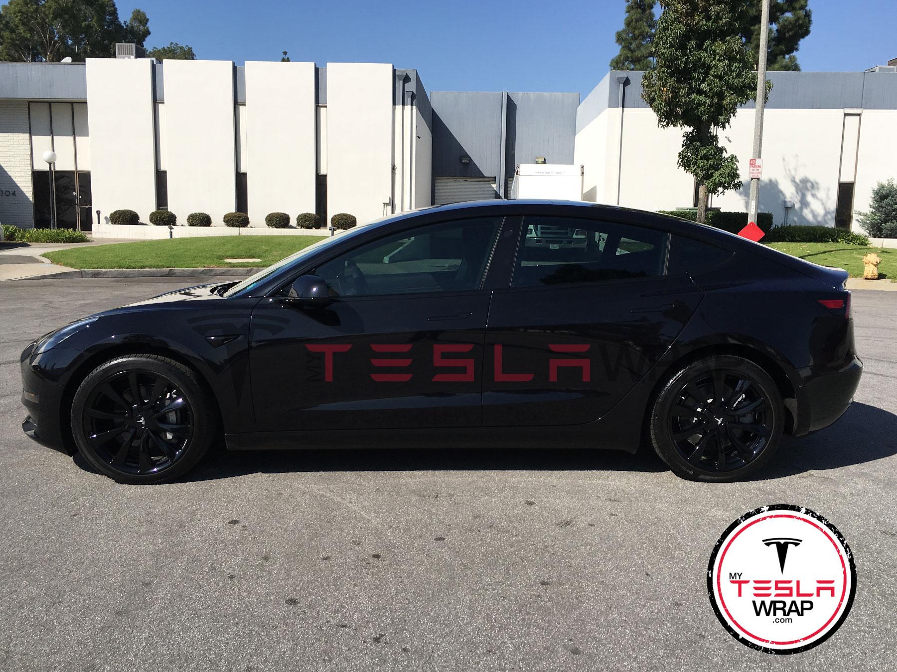Tesla Model 3 Matte Black